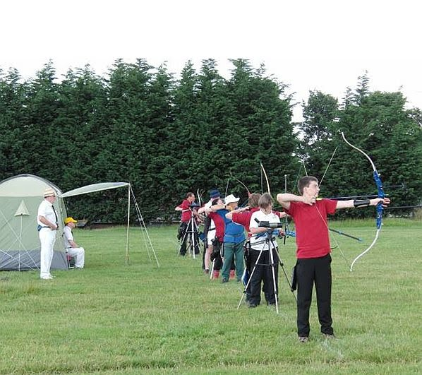 Photo of shooting line at Bannockburn Open St George and Albion